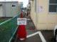 小野駅前郵便局横の通路の安全確保を